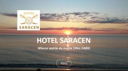 noclegi Dąbki Hotel Saracen