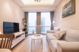 Tieshimen Suyue Apartment, Appartamenti  Suzhou - big - 19