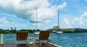 Waterfront Limestone Apartment & spa Curacao
