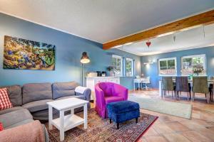 obrázek - Das blaue Ferienhaus am Meer