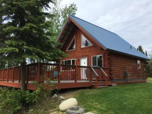 Kenai River Log Cabin - Moose Pass