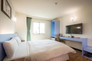 Apple Hotel, Хостелы  Тайдун - big - 5