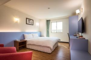 Apple Hotel, Хостелы  Тайдун - big - 4