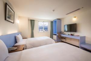 Apple Hotel, Хостелы  Тайдун - big - 28