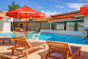 Отель Garça Branca Praia Hotel, Порту-Сегуру