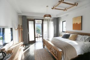 Double Room Hanshe Under Ginkgo Boutique Guesthouse