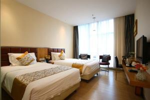 Shanshui Trends Hotel East Station, Szállodák  Kuangcsou - big - 16