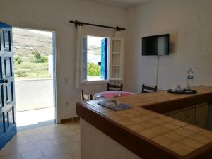 House near Sea Andros Greece