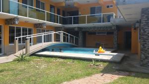 Hotel y Balneario Playa San Pablo, Отели  Монте-Гордо - big - 37