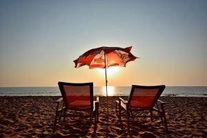 Cola Beach, Люкс-шатры  Кола - big - 1