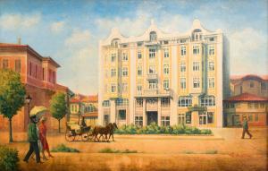 Grand Hotel London, Отели  Варна - big - 26