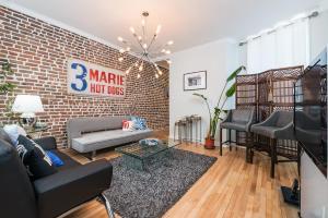 . 4-bedroom Mile-End Montreal Top Floor