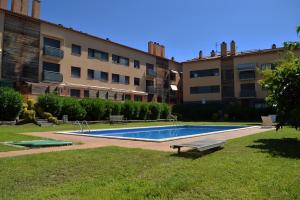 Apartamento 6 personas con piscina en Calonge