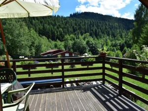 Cozy Chalet in Turquestein-Blancrupt with River Nearby