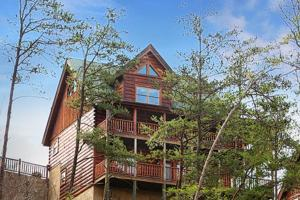 Celebration Lodge - Four Bedroom, Ferienhäuser  Sevierville - big - 24