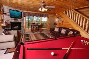 Celebration Lodge - Four Bedroom, Ferienhäuser  Sevierville - big - 11