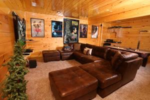Playhouse Cinema - Four Bedroom, Dovolenkové domy  Sevierville - big - 18