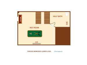 Fireside Memories - Two Bedroom, Дома для отпуска  Севьервилл - big - 10