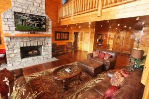 Serenity Mountain Pool Lodge - Nine Bedroom, Prázdninové domy  Sevierville - big - 30