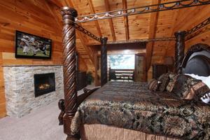 Serenity Mountain Pool Lodge - Nine Bedroom, Prázdninové domy  Sevierville - big - 37