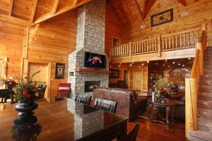 Serenity Mountain Pool Lodge - Nine Bedroom, Prázdninové domy  Sevierville - big - 39