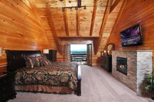 Serenity Mountain Pool Lodge - Nine Bedroom, Prázdninové domy  Sevierville - big - 47