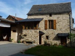 House Le grenier à grains, Prázdninové domy  Montirat - big - 2