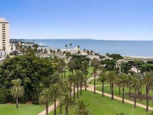 Espresso Apartments - St Kilda penthouse with panoramic Bay and City views, Apartmanok  Melbourne - big - 2