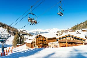 Residence Hedena Chalet Edelweiss By Locatour - Apartment - Plagne 1800