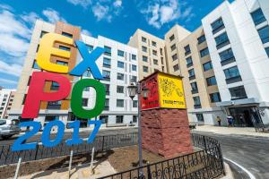 Expo Boulevard Aibek, Apartmanok  Asztana - big - 25