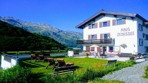 3 hvězdičkový penzion Haus Zeinissee Galtür Rakousko