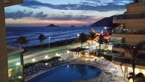 Flats com vista no Recreio, Apartmánové hotely  Rio de Janeiro - big - 54
