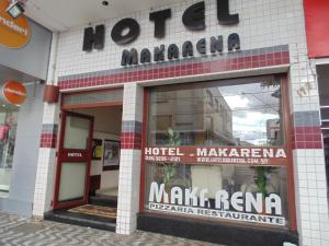 Hotel Makarena, Hotel  Três Corações - big - 23