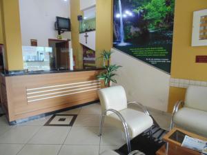Hotel Makarena, Hotel  Três Corações - big - 21