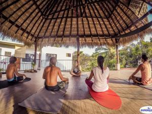 Experiencia Surf Camp, Хостелы  Пуэрто-Эскондидо - big - 36