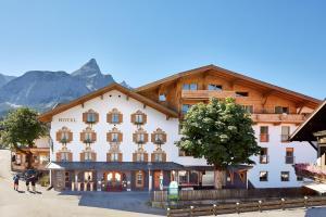 Mountain Boutiquehotel Der Grüne Baum, Hotel  Ehrwald - big - 78
