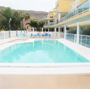 Golden Beach appartement met Pool, Appartamenti  Puerto de Mogán - big - 15