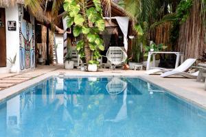 Residencia Gorila, Apartmanhotelek  Tulum - big - 109