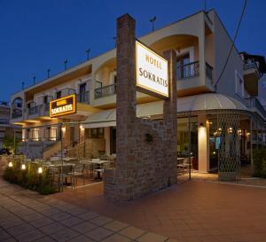Sokratis Hotel, Hotely  Nea Moudania - big - 83
