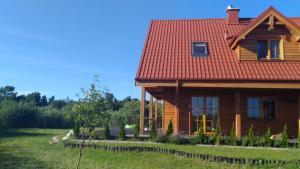 maison de charme au bord de la Baltique
