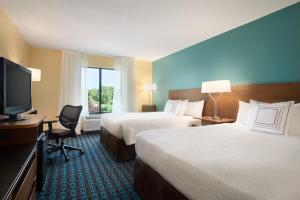 Fairfield Inn & Suites Hartford Manchester, Hotels  Manchester - big - 2