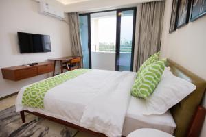Baorui Railway Boutique Apartment, Appartamenti  Sanya - big - 17