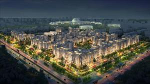 Expo Boulevard Aibek, Апартаменты  Астана - big - 22