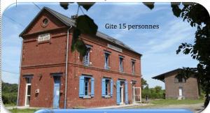 Les Pommes d'Or, Дома для отпуска  Marly-Gomont - big - 9