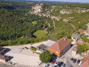 Logis Hôtel Le Belvédère, Hotels  Rocamadour - big - 41