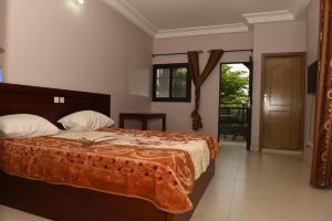 Hotel Mirambeau, Hotels  Lomé - big - 37
