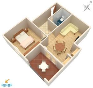Apartment Tribunj 4201a, Ferienwohnungen  Tribunj - big - 13