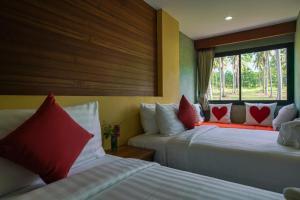Koh Kood Paradise Beach, Üdülőtelepek  Kut-sziget - big - 28