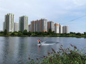 Apartment on Yuzhnoye shosse 55 - Ryleyevo