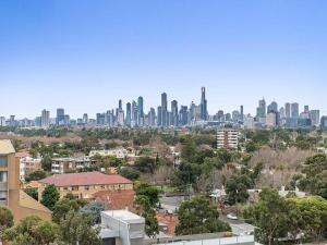 Espresso Apartments - St Kilda penthouse with panoramic Bay and City views, Apartmanok  Melbourne - big - 4